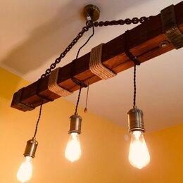 Люстры и потолочные светильники - Люстра эко стиль( Loft) , 0