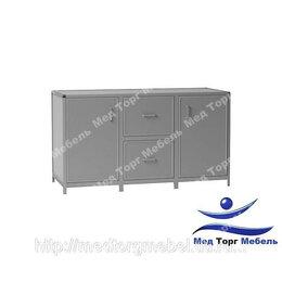 Тумбы - Стол-тумба дверка, 2 ящика, дверка СТЛ 3-02 (лдсп), 0