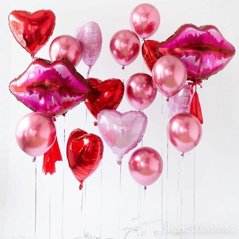 """Композиция """"Признание в Любви, ах эти Губы"""" по цене 3890₽ - Цветы, букеты, композиции, фото 0"""