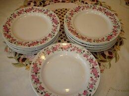 "Тарелки - Комплект десертных тарелок "" Роза Авон"",.…, 0"
