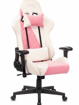 Компьютерные кресла - Геймерское кресло Бюрократ VIKING X Fabric белый/р, 0