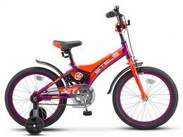 """Велосипеды - Велосипед Stels Jet 18"""" Z010/фиолетовый, 0"""