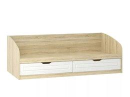 Кровати - Кровать НМ 008.63 Оливия Дуб Сонома/белое дерево, 0