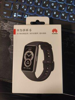 Умные часы и браслеты - Фитнес браслет huawei band 6 (китайская версия), 0