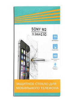 Защитные пленки и стекла - Защитное стекло для Sony D2303 M2 0.33мм 008323, 0