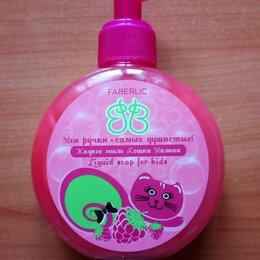 Мыло - Жидкое мыло для детей Кошка Малина 200мл Faberlic, 0