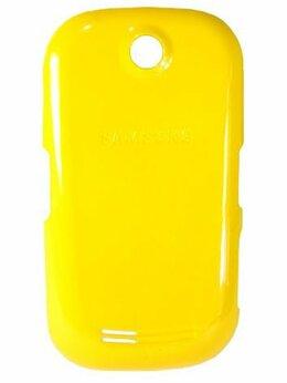 Корпусные детали - Крышка задняя ААА для Samsung S3650 Corby желтый, 0