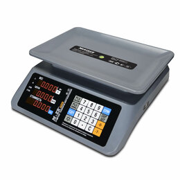 """Весы - Торговые настольные весы M-ER 321 AC-32.5 """"MARGO"""" , 0"""