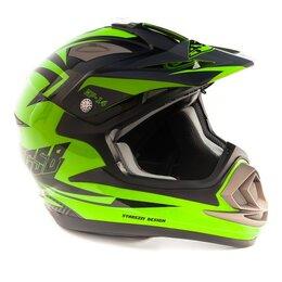 Спортивная защита - Кроссовый шлем GSB XP - 14 GREEN, 0