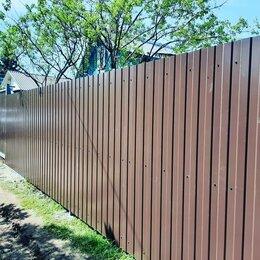 Заборы и ворота - Забор из профнастила, 0
