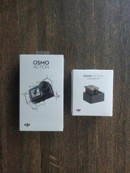 Экшн-камеры - DJI Osmo Action + Charging Kit, 0