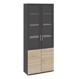 Шкафы для документов - Шкаф для документов со стеклом ПМ-184.17, 0