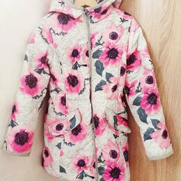 Пальто и плащи - Утепленный плащ 7-8 лет, 0
