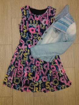 Куртки - Платье + джинсовка, 0