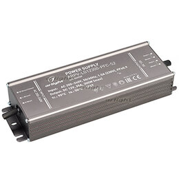 Блоки питания - Блок питания ARPV-LG12300-PFC-S2 (12V, 25.0A, 300W) (ARL, IP67 Металл, 5 лет), 0
