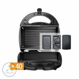 Сэндвичницы и приборы для выпечки - Мультипекарь Redmond RMB-616/3, 0