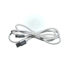 Аксессуары и запчасти для оргтехники - Кабель USB Type-C GFUZ GF-24 (до 3A) белый, 0