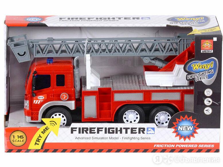 Машина инерционная WenYi Пожарная (с лестницей) по цене 604₽ - Машинки и техника, фото 0