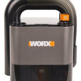 Пылесосы - Аккумуляторный пылесос WORX WX030.1 12В, без АКБ и ЗУ, 0