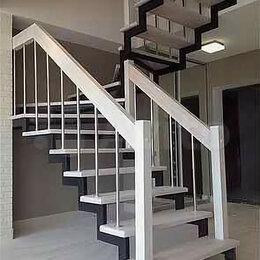 Лестницы и элементы лестниц - Металлокаркас лестницы, обшивка, 0