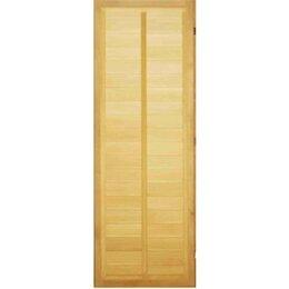 Двери - Посад Дверь «Горизонтальная вагонка» (левая), 0