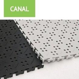 Фактурные декоративные покрытия - Напольное покрытие для автомойки, гаража, 0