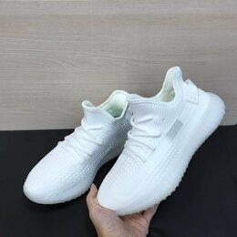Кроссовки и кеды - Кроссовки Adidas Yeezy Boost 350 белые (A841), 0