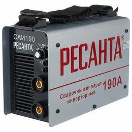 Сварочные аппараты - Инверторный сварочный аппарат Ресанта саи 190А, 0