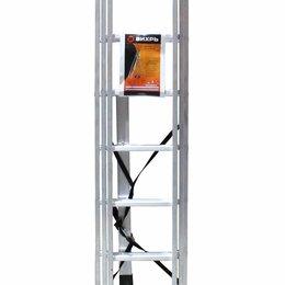 Лестницы и элементы лестниц - Лестница алюминиевая трёхсекционная ВИХРЬ ЛА 3х10, 0