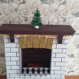 Новогодний декор и аксессуары - Рождественский камин, 0
