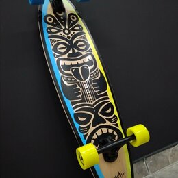 Скейтборды и лонгборды - Лонгборд Plank Totem новый, 0