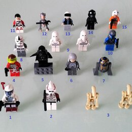 Игровые наборы и фигурки - Лего Lego фигурки из серии Звездные войны…, 0