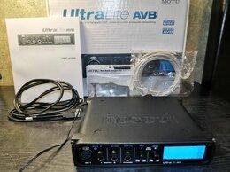 Оборудование для звукозаписывающих студий - Аудиоинтерфейс Motu Ultralite AVB, 0
