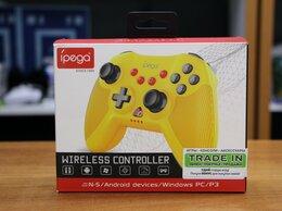 Рули, джойстики, геймпады - Джойстик Wireless Controller Yellow - iPega, 0