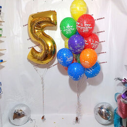Украшения и бутафория - Гелевые воздушные шары, 0