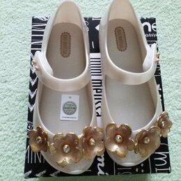 Шлепанцы - Нарядные туфельки Mini melissa р 28-29 оригинал, 0