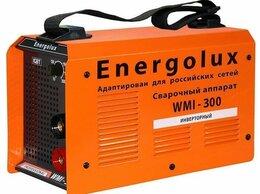 Сварочные аппараты - Сварочный аппарат Energolux WMI-300 (MMA)…, 0