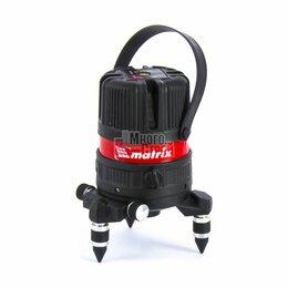 Измерительные инструменты и приборы - Лазерный уровень  ML04P, 10м, ±0,3мм/1м, 635нм, 4 верт. 1 гор. пл., пыле-влаго. , 0