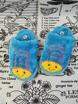 Домашняя обувь - Детские домашние тапочки с резиночкой на пятке…, 0