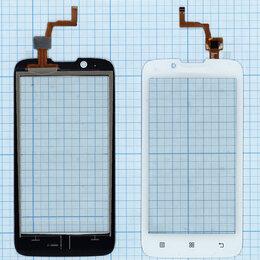Дисплеи и тачскрины - Сенсорное стекло (тачскрин) для Lenovo A328 белое, 0