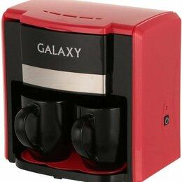 Кофеварки и кофемашины - Стильная кофеварка Galaxy в красном-черном дизайне, 0