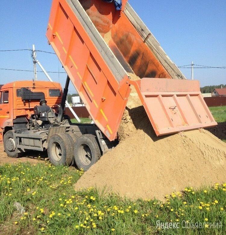 Песок по цене 2500₽ - Строительные смеси и сыпучие материалы, фото 0