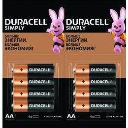 Батарейки - Элемент питания Duracell LR03-4BL BASIC 4х4 (16/240/31680)5009140/500810..., 0