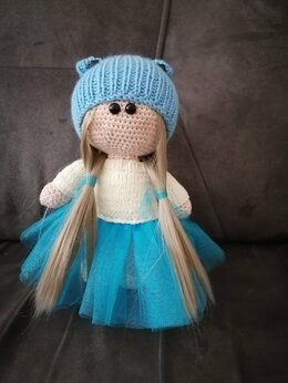 Куклы и пупсы - интерьерная кукла, 0