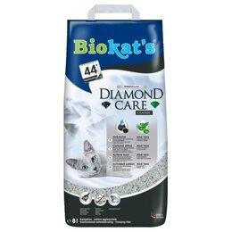 Наполнители для туалетов - Biokat's Diamond Care Classic 8 л, 0