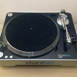 Проигрыватели виниловых дисков - Виниловый проигрыватель stanton t.60, 0