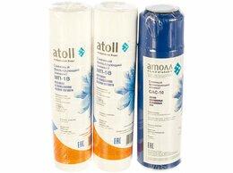 Фильтры для воды и комплектующие - Сменные картриджи Atoll набор №202 Патриот для…, 0
