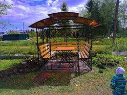 Комплекты садовой мебели - Беседки с мангалом, 0