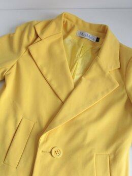 Пиджаки - Пиджак жёлтый MaxMara, 0