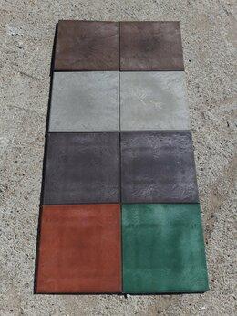 Садовые дорожки и покрытия - Плитка полимерпесчаная 330х330х22 гладкая, 0